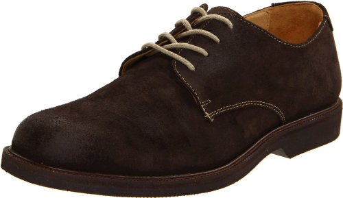 Johnston & Murphy Men's Brennan Oxford,Dark Brown Suede,10 M US