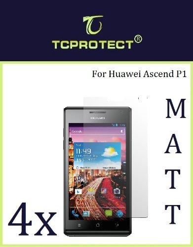 4x Huawei Ascend P1 Schutzfolie Anti Reflex Matt Huawei p1