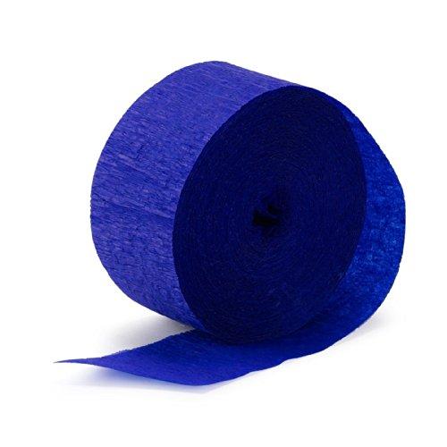 Sapphire Blue (Blue) Streamer (1 roll) - 1