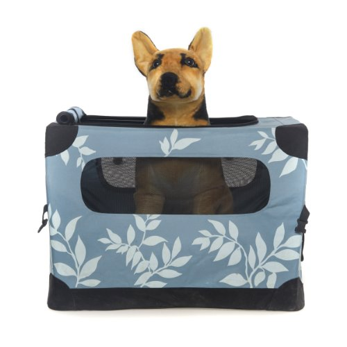 favorite 28inch soft portable dog pet pet home for large dogscats air travelcar travelvet visit in blue xl by mfps