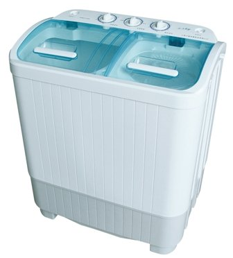 Portable Mini Twin Tub Washing Machine with Spin Dryer (889) Ideal for Caravans or Small Spaces