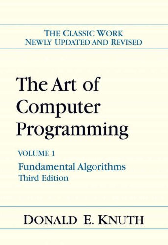 The Art of Computer Programming: Fundamental Algorithms