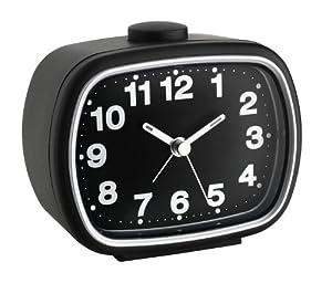 TFA Dostmann 60.1017.01 - Despertador analógico (4 niveles de alarma), color negro   Revisión del cliente y la descripción más