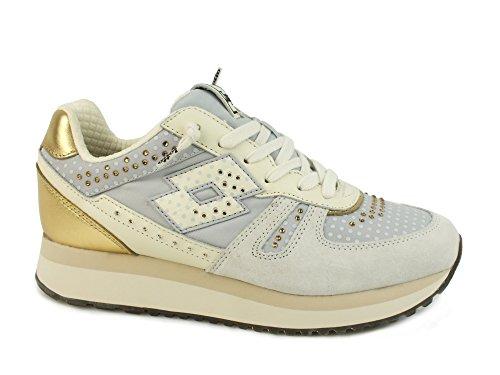 Lotto Leggenda S5863 Sneakers Donna Scamosciato Wht Ant/Gry Lun Wht Ant/Gry Lun 40