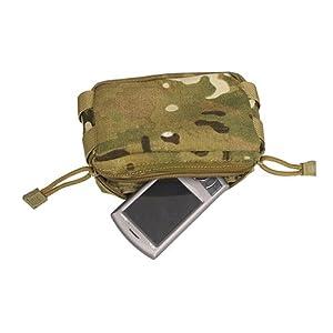 Flyye Petit poche pour accessoires MOLLE Multicam