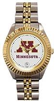 Minnesota Gophers- (University of) Ladies Executive Stainless Steel Sports Watch