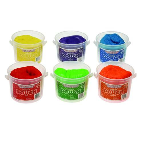 Constructive Playthings(tm) Modeling Dough - Set of 6