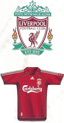 Adidas Men's Liverpool FC Home Jersey-light scarlet/white
