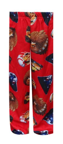 Angry Birds Star Wars Bird Wars Red Pajama Pants For Boys (Medium) back-1011502