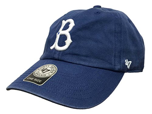 Brooklyn Dodgers 47 Brand Blue Clean Up Slouch Adjustable St
