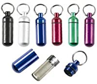 SE Small Pill/ID Holder Keychain (Set of 6) by SE