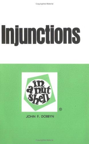 Dobbyns Injunctions in A Nut (Nutshell Series), DOBBYN