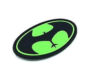 Patch Nation - Patch Applique Buttman Velcro PVC Airsoft Vert Foncé
