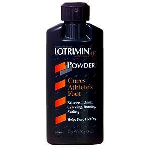 Lotrimin Antifungal Powder for Athlete's Foot, 3-Ounce Bottles