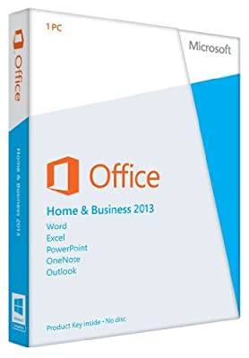 Microsoft Office 2013 Home and Business 32/64-bit - Product Key Card