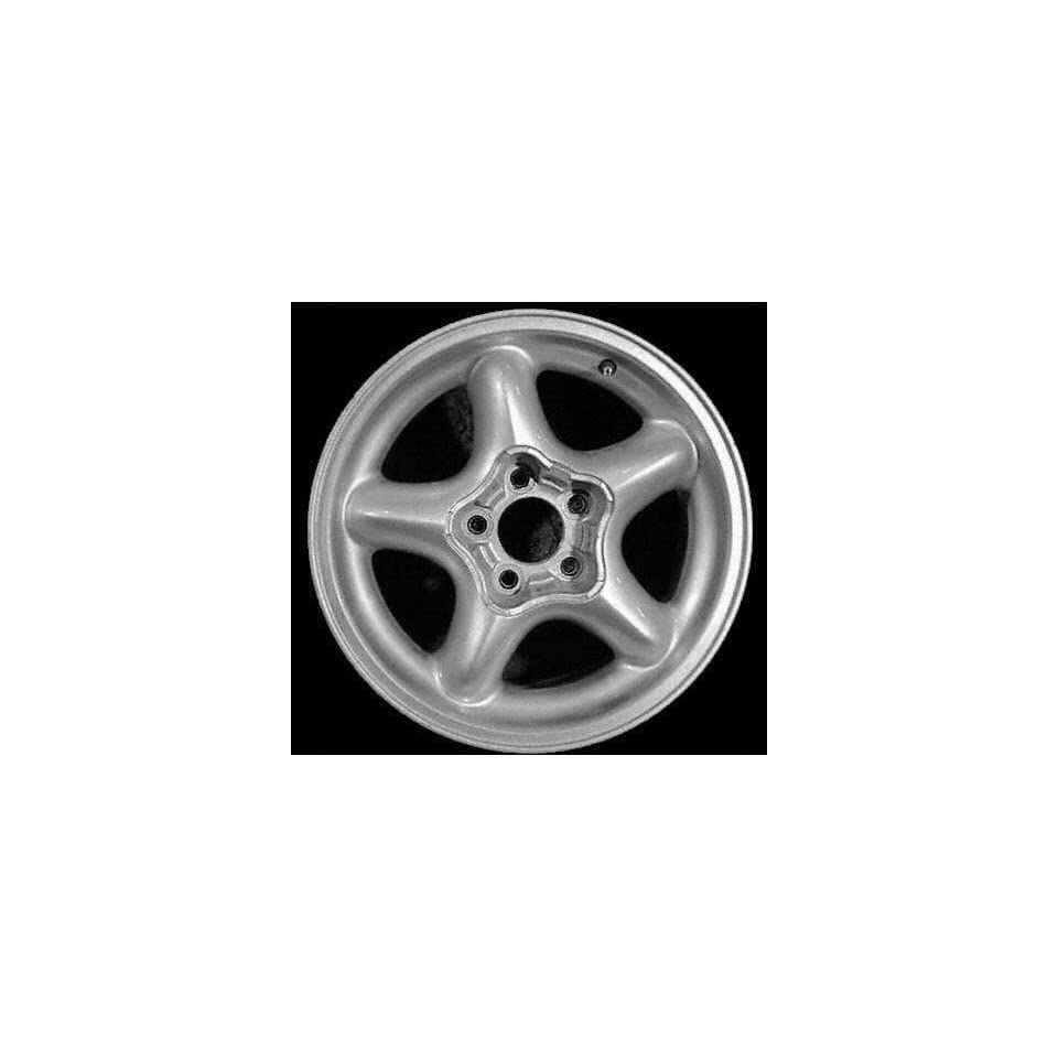 94 98 FORD MUSTANG ALLOY WHEEL RIM 16 INCH, Diameter 16, Width 7.5 (5 SPOKE), 30mm offset, CHROME, 1 Piece Only, Remanufactured (1994 94 1995 95 1996 96 1997 97 1998 98) ALY03088U85