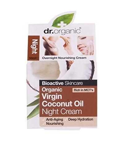 Dr Organic Crema de Noche Virgin Coconut Oil 50 ml