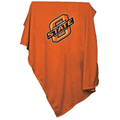Brand New Oklahoma State Cowboys NCAA Sweatshirt Blanket Throw by Things for You