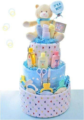 Imagen de Es un muchacho 3 torta de pañales Tier