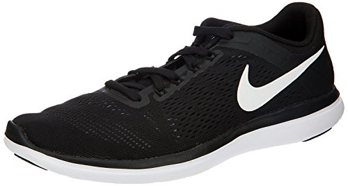 Nike Men's Flex RN 2016 Running Shoe Black/White/Cool Grey Size 11 (Cool Greys 11 compare prices)
