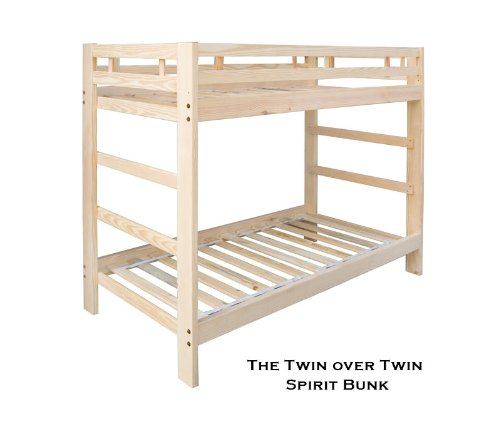 Full Over Futon Bunk Bed 175696 front
