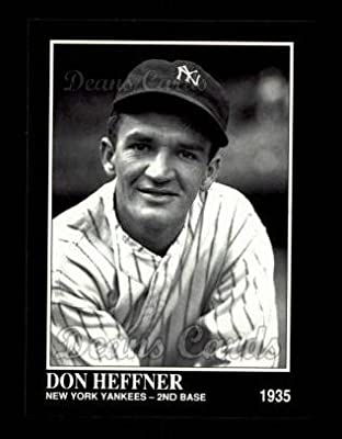 1992 Conlon # 521 Don Heffner New York Yankees (Baseball Card) Dean's Cards 8 - NM/MT