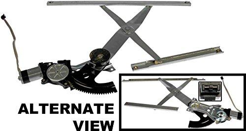 APDTY 852760 Power Window Motor Regulator Assembly Fits Front Left 1992-1997 Buick Skylark 2-Door; 1992-1997 Olds Achieva 2-Door; 1992-1998 Pontiac Grand Am 2-Door (Replaces GM 16636617)