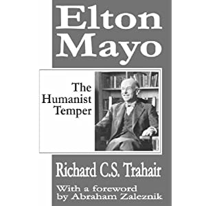 mini biography of george elton mayo History of motivation: maslow's theory is one of the most widely discussed theories of motivation george elton mayo is known as the founder of the human relations movement and was known for his research, including the hawthorne studies and his book, the human problems of an industrialized civilization (1933.