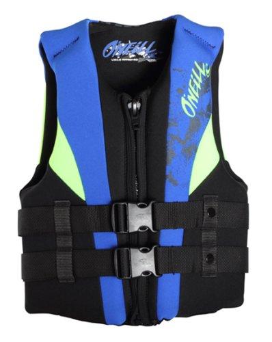 Kids Safety Zone O Neill Wetsuits Child Uscga Vest Black