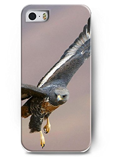 Ouo Stylish Series Case For Iphone 5 5S 5G With The Design Of Fierced Eagle Fly In The Sky