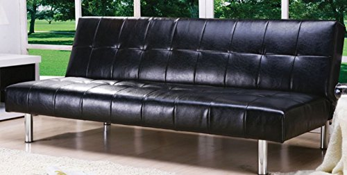 futon-sofa-bed-with-button-tufted-design-in-black-vinyl-leather-finish-by-home-life-s261-300118
