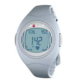 Polar F4 Women's Heart Rate Monitor Watch (Blue Ice)