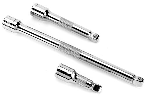 Powerbuilt 640856 1/2-Inch Drive Wobble Extension Set, 3-Piece