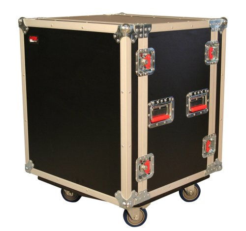 Gator 12U Shock Audio Road Rack Case With Casters (G-Tour Shk12 Ca)