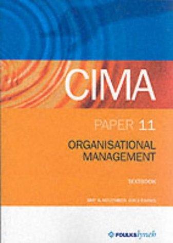 CIMA Textbook: Paper 11 (CIMA Textbook: Intermediate Level)