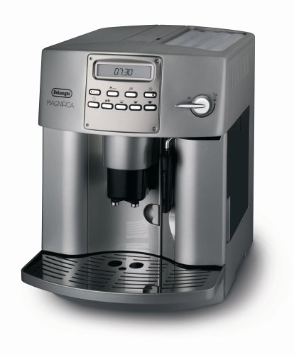 cf coffee maker delonghi magnifica w double boiler eam3400. Black Bedroom Furniture Sets. Home Design Ideas