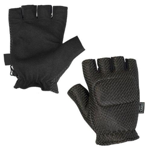 Gloves - V-Tac Half Finger Padded Back-M