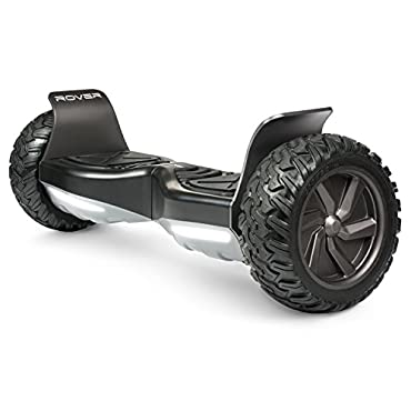 Halo Rover Hoverboard - Safety Certified UL 2272 with Bluetooth Speakers, Mobile App, Carry Case, LG FireSafe Battery, 8.5 Non-Flat Tires