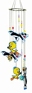 Spoontiques Sylvester and Tweety Wind Chime
