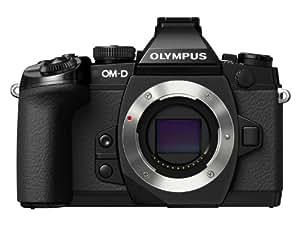 Olympus E-M1 OM-D Systemkamera (16 Megapixel, 7,6 cm (3 Zoll) TFT LCD-Display, True Pic VII Prozessor, Full-HD, HDR, 5-Achsen Bildstabilisator) nur Gehäuse schwarz