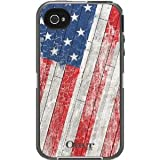 Otterbox iPhone 4S Defender Case - Rustic Flag -Apple iPhone 4 -AT&T ,Verizon,4s