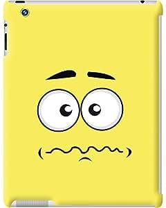 Kasemantra Sad Face Case For Apple iPad 2, Apple iPad 3, Apple iPad 4