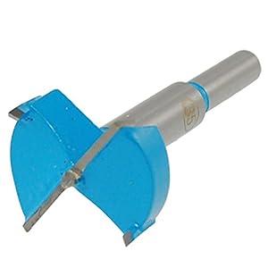 Fraise pour charnière, Ø 35 mm (Gris/bleu)