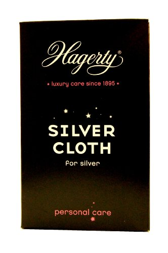 Silver jewellery cleaning cloth by hagerty