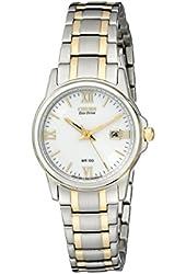 Citizen Women's EW1914-56A Eco-Drive Two-Tone Watch
