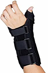 Alpha Medical L.L.C. AlphaBrace Wrist Brace with Thumb Splint For Carpel Tunnel Relief, Wrist, Hand, Thumb Support