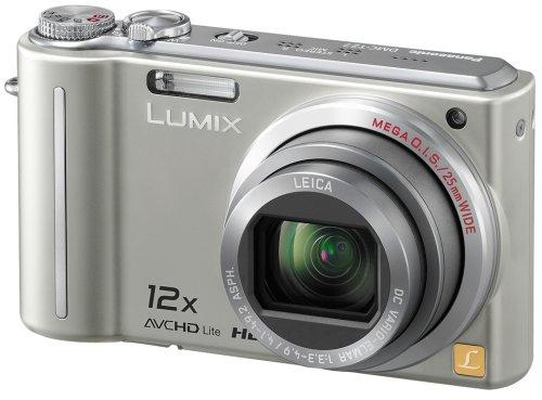 Panasonic デジタルカメラ LUMIX (ルミックス) TZ7 シルバー DMC-TZ7-S
