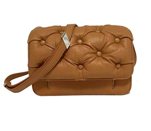 Benedetta Bruzziches borsa Carmen con tracolla colore biscotto