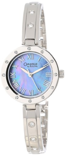 Caravelle By Bulova Women'S 43L155 Crystal Watch
