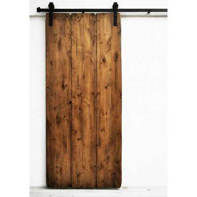 Tuscan Wood 1 Panel Interior Barn Door Finish: Aged Oak Stain (Barn Door Panel compare prices)